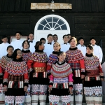 youth in traditional costume - Ilulissat