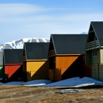colourful houses - Longyearbyen